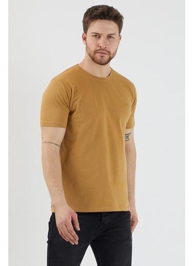 Slazenger Slazenger SANDER Erkek T-Shirt Toprak Renkli